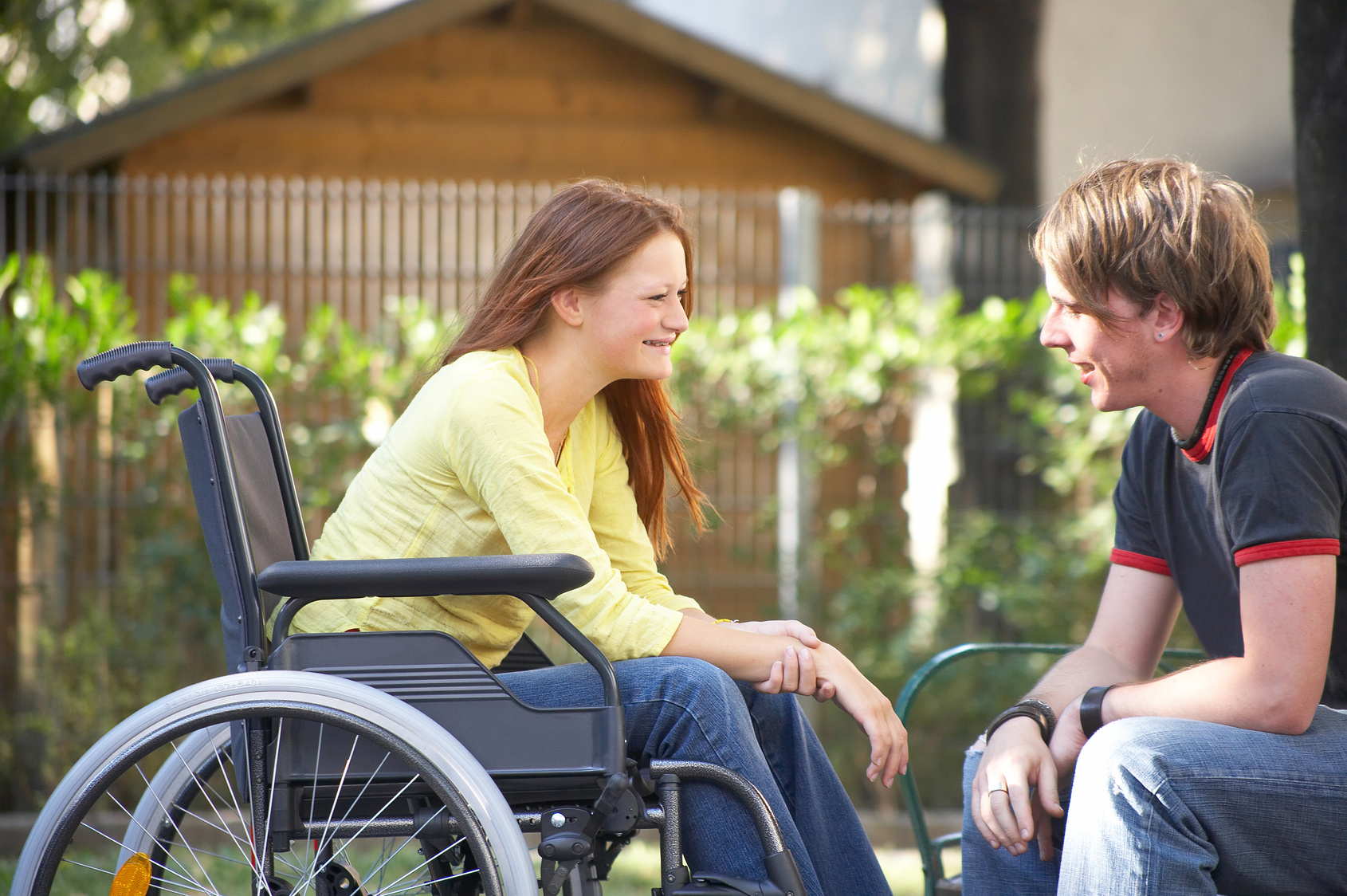 Die größte Partnersuche für Menschen mit Handicap